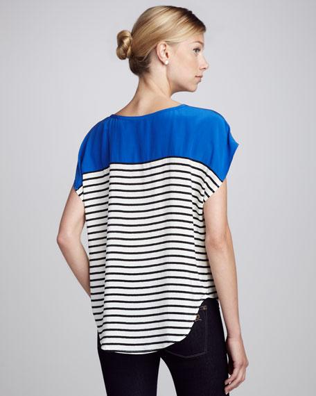 Agacia Striped Combo Top