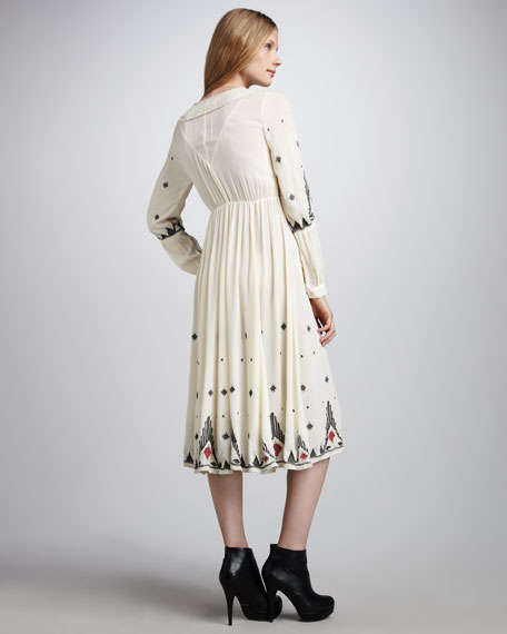 Splendor Gauze Dress