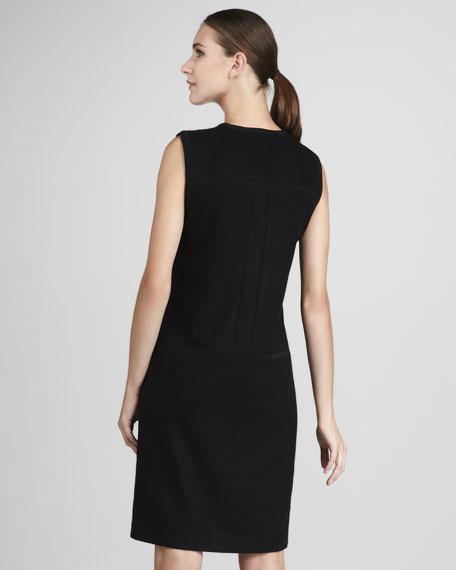 Drop-Waist Shift Dress
