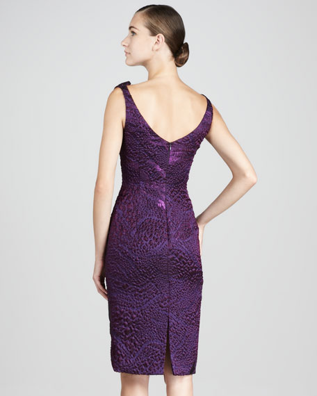 Brocade Cocktail Dress