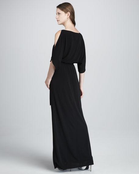 Bernice Cold-Shoulder Maxi Dress