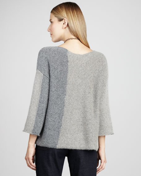 Boxy Colorblock Top