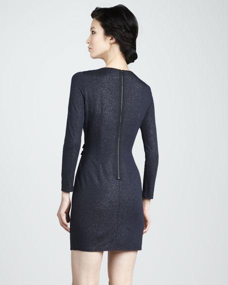 Sparkle-Ponte Dress