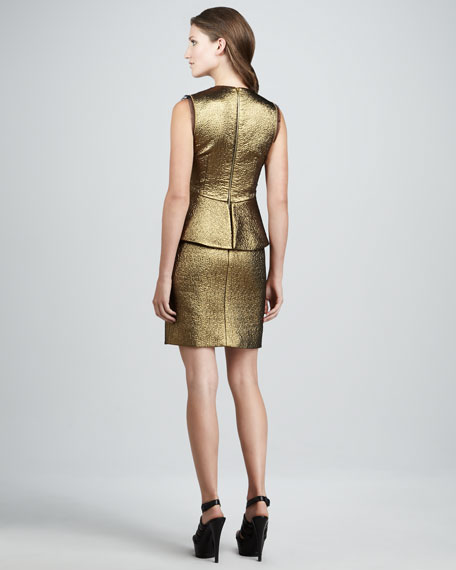 Delian Clean Jacquard Dress