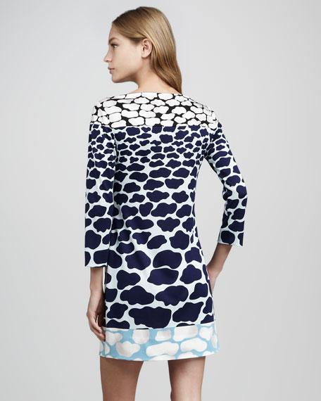 Ruri Cloud Dreams Printed Dress