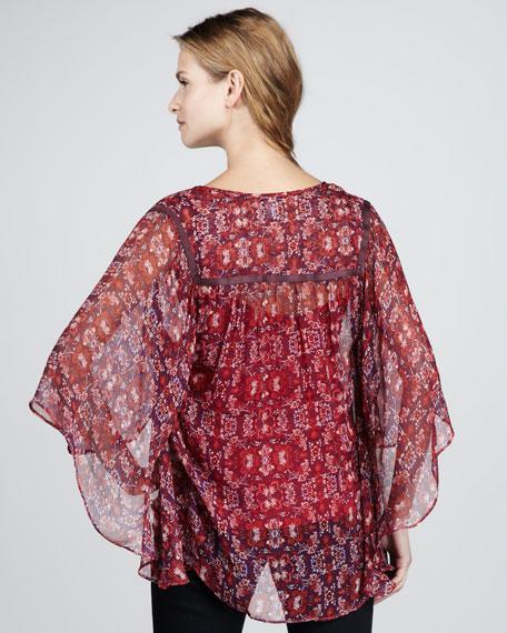 Aura Printed Silk Tunic