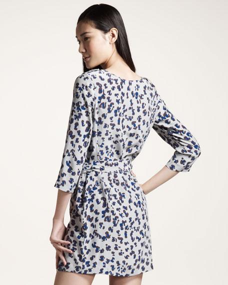 Gryph Tie-Waist Dress