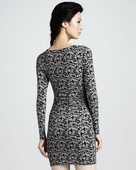 Asymmetric Keyhole Dress