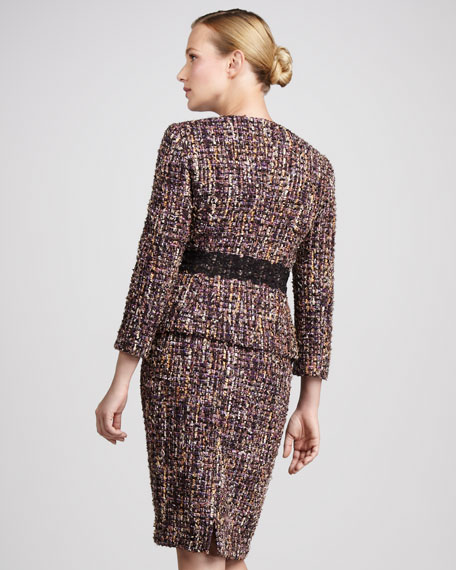 Embellished Tweed Suit