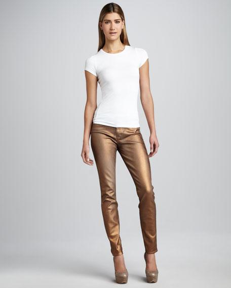 Joy Lux-Metallic Leggings