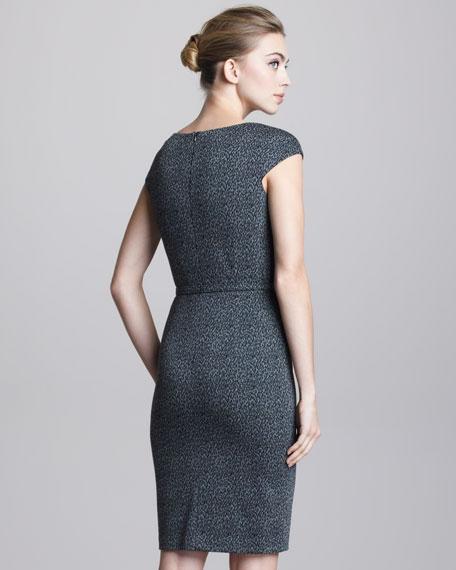 Belted Contour Dress