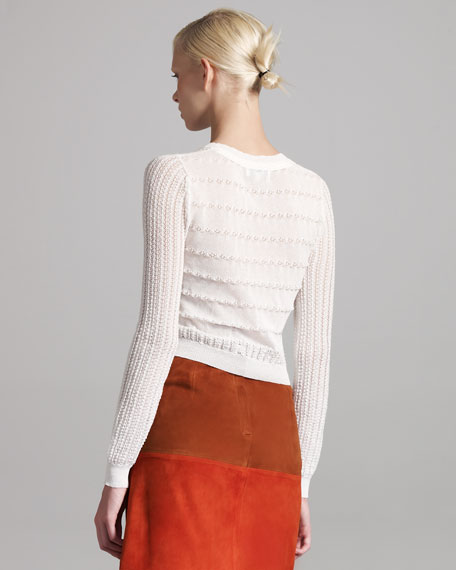 Knit Patterned Sweater