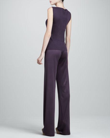 Silk-Jersey Pajama Pants
