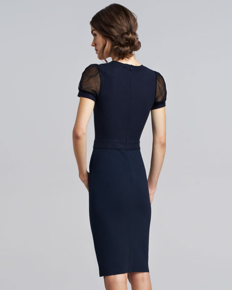 Macrame Jersey Dress