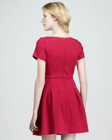 Cassidy Seam-Waist Dress