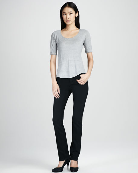 Abby-Skinny Curpo Luxe Jeans