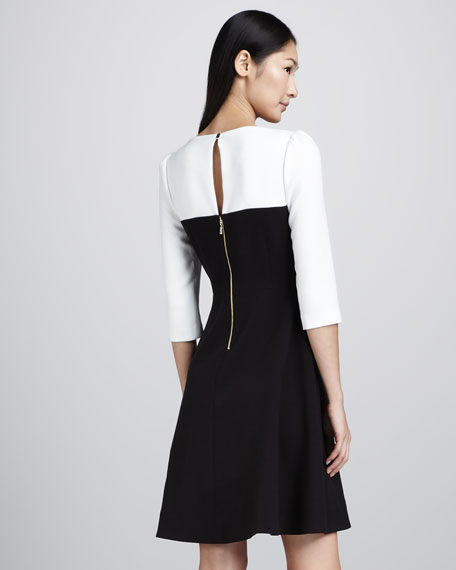 olsen two-tone dress