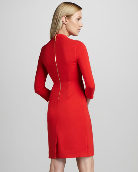 shiella square-neck dress