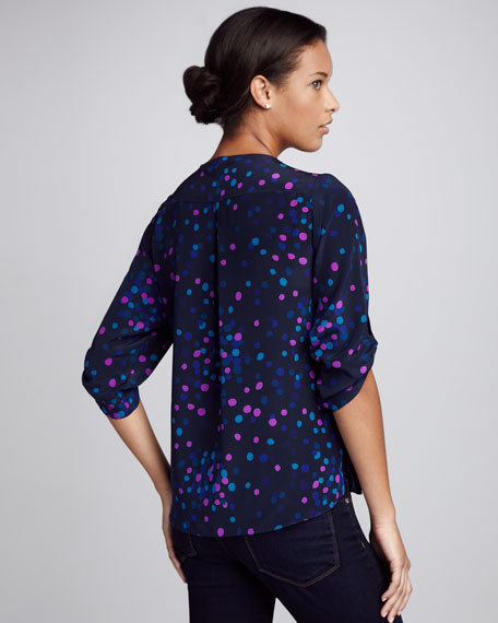 Bailey Dot-Print Top