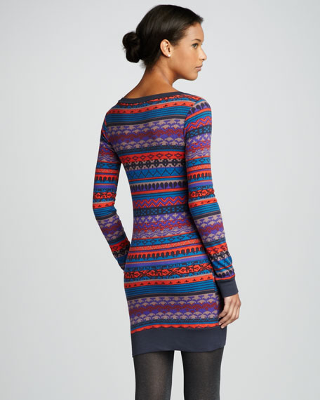 Breckenridge Patterned Sweaterdress