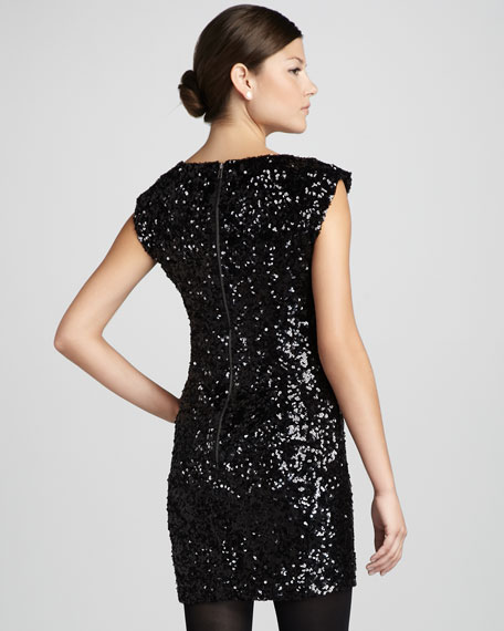 Moonray Sequined Dress