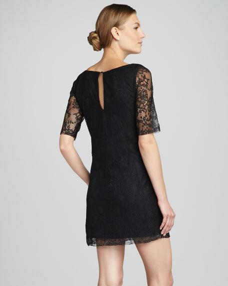 Nicole Lace Shift Dress