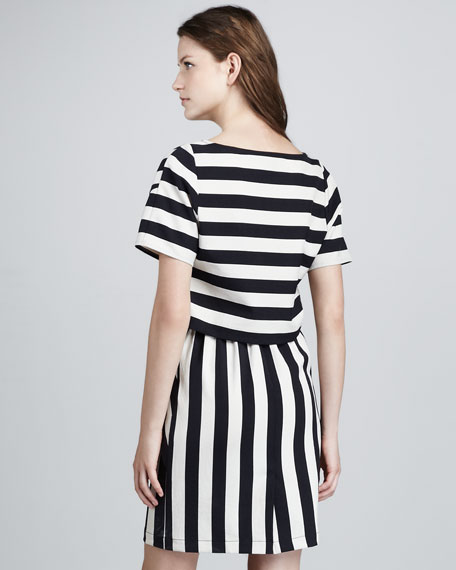 Scooter Striped Dress