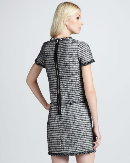Tweed Shift Dress