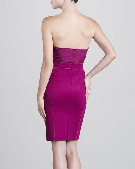 Jersey Bustier Dress