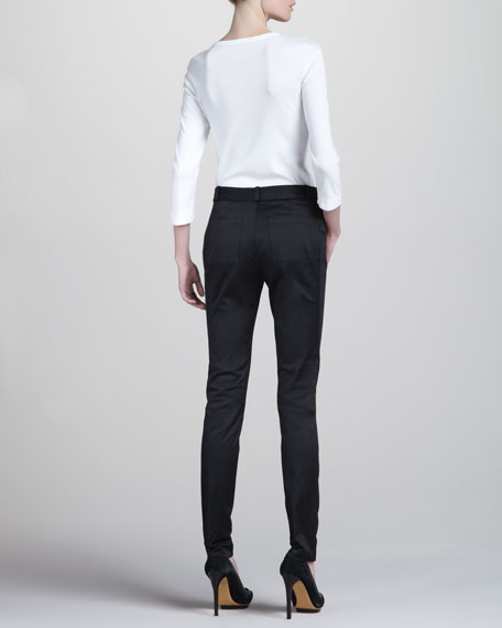 Stretch Suit Pants, Black