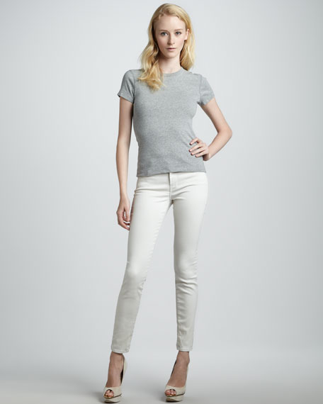620 Stone Mid-Rise Super Skinny Jeans