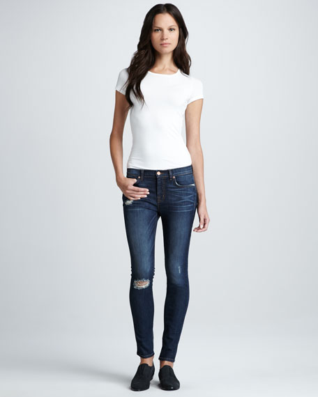 811 Salem Distressed Skinny Jeans