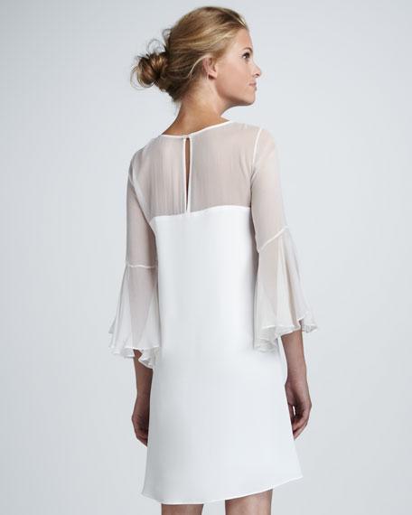 Elizabeth and James Saige Sheer-Top Dress