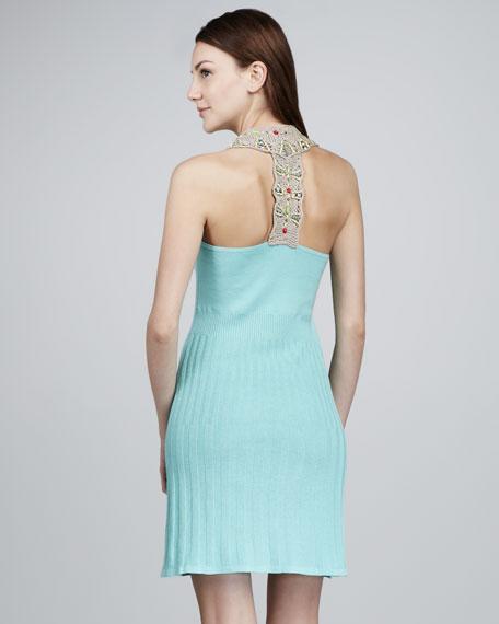 Big Wave Dress, Icy Blue