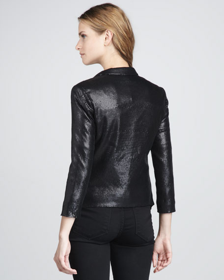 Cleo Sequined Blazer