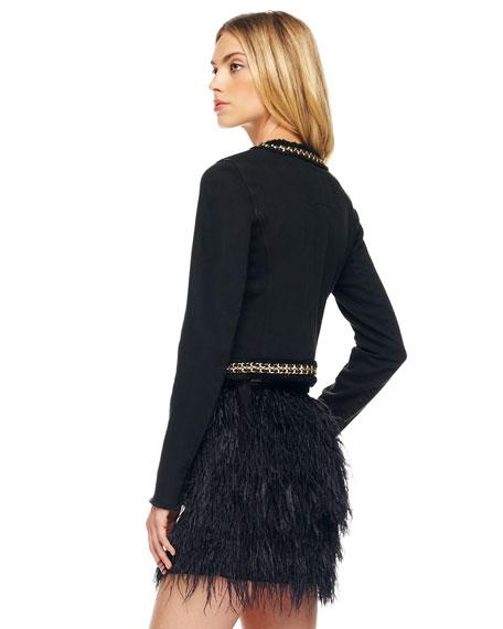 Ostrich-Feather Skirt