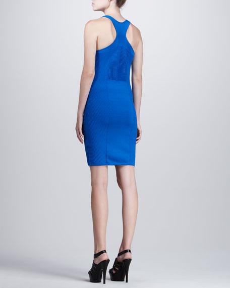 Fitted Tank Dress, Cobalt