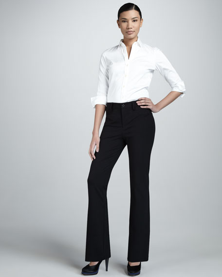 Charlotte Ponte Trousers, Petite