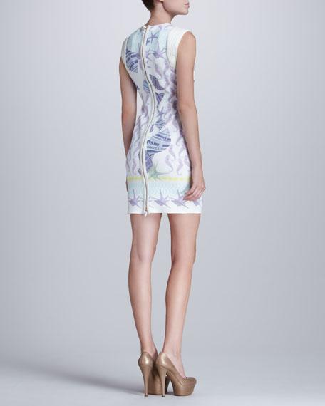 Ocean-Print Dress