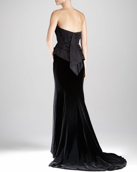 Structured Asymmetric Gown
