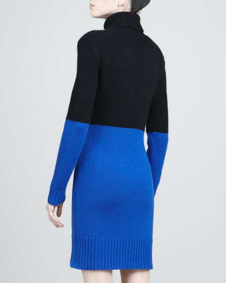 Cashmere Colorblock Dress