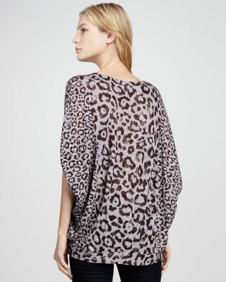 Felix Cheetah-Print Top