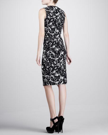 Printed Sleeveless Dress