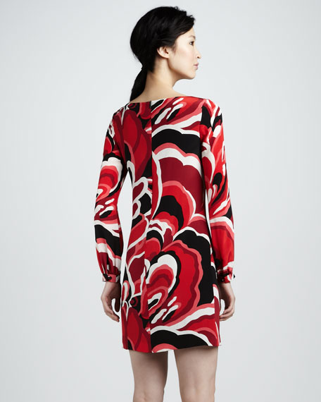Elektra Long-Sleeve Dress
