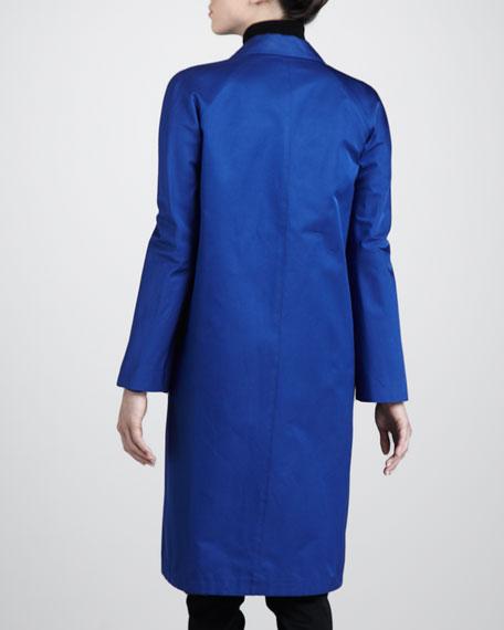 Loose Sateen Coat