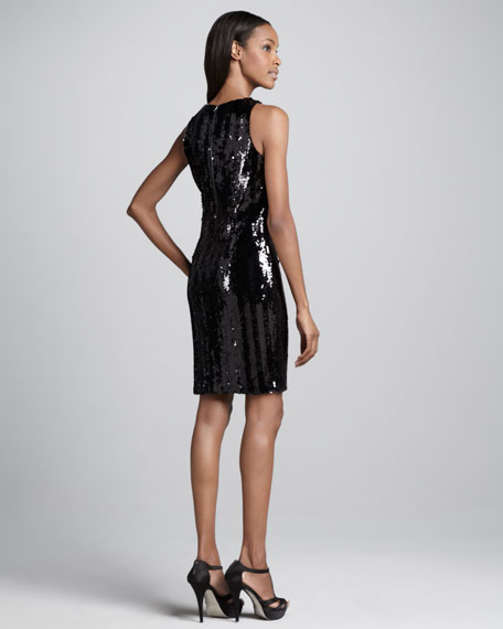 Bari Sequined Dress