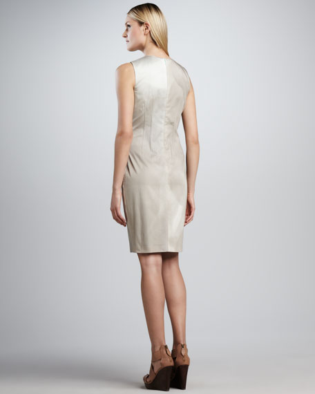 Emory Sleeveless Shaded Sheath Dress