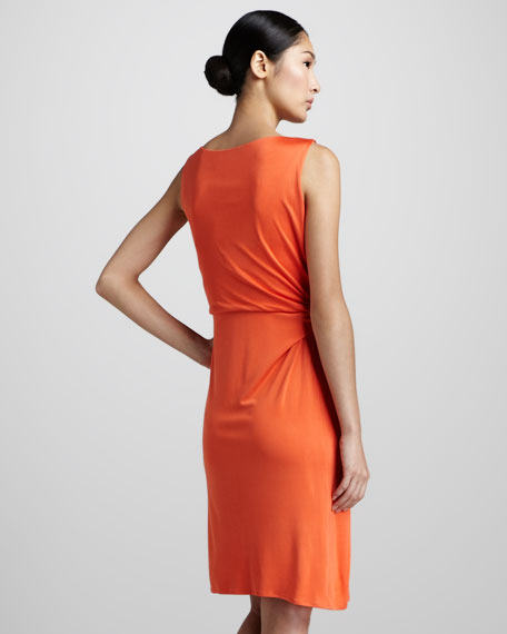 Sleeveless Side-Tie Dress