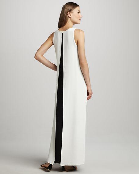 Tabia Slit-Back Maxi Dress