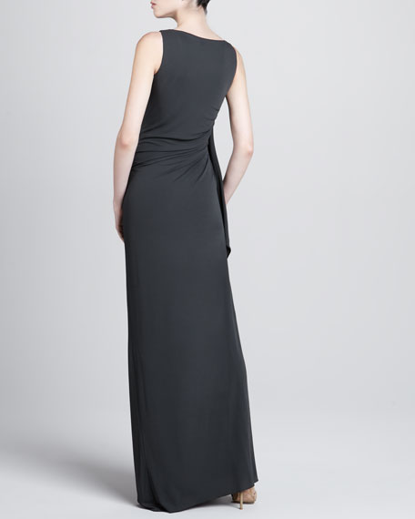 Ruch-Side Jersey Gown